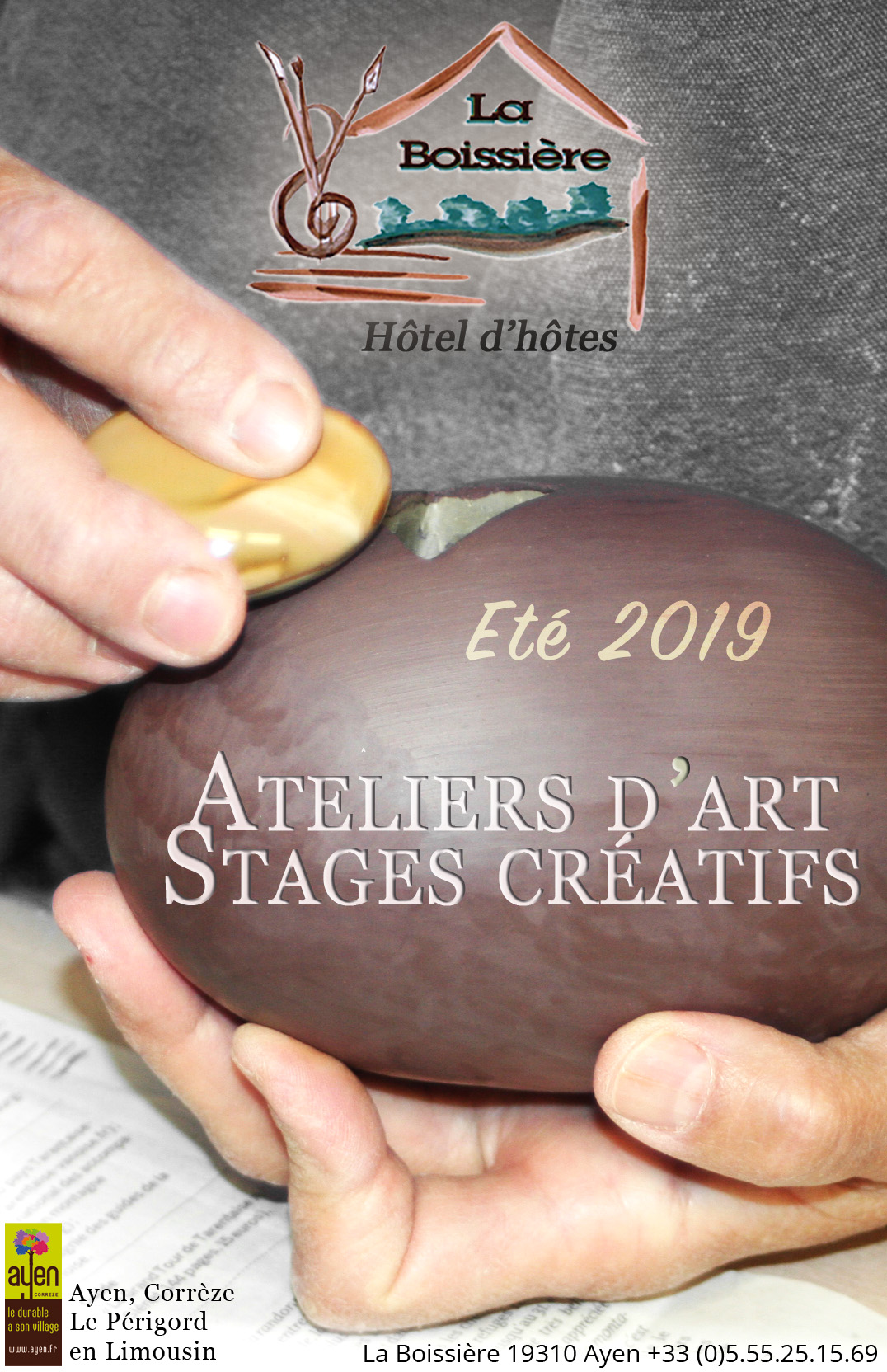 Brochure, Programme stages 2019